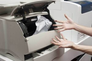 HP Printer Paper Jam Issues
