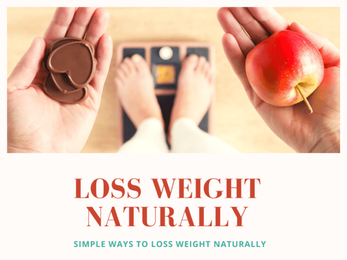 Loss weight naturally