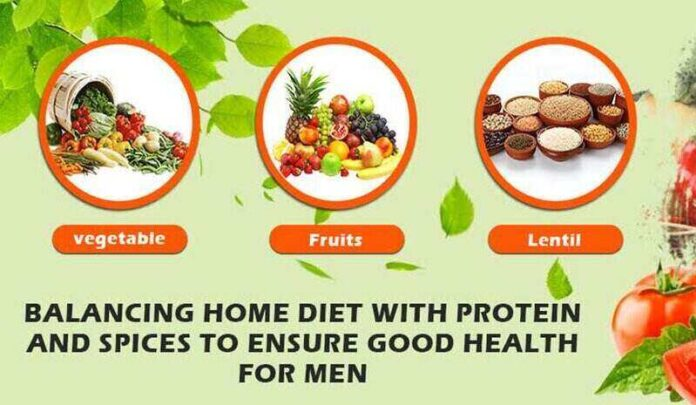 BALANCING HOME DIET WITH PROTEIN