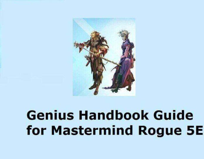 Mastermind Rogue 5E