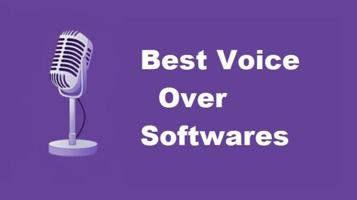 Voice over softwares