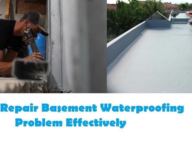 Basement Waterproofing Problem